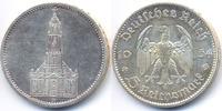 5 Reichsmark 1934 D Drittes Reich Garnisonskirche ohne Datum - Silber g... 26,00 EUR