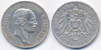 5 Mark 1914 E Sachsen Friedrich August III. 1904-1918 knapp vorzüglich  65,00 EUR