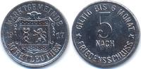 5 Pfennig 1917 Bayern Marktleuthen – Eisen 1917 (Funck 322.7b neue Nr.)... 25,00 EUR  zzgl. 3,80 EUR Versand