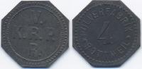 4 Pfennig ohne Jahr Württemberg - Rottweil Pulverfabrik Rottweil (Fr. 1... 32,00 EUR  zzgl. 3,80 EUR Versand