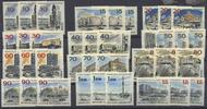 Berlin 10 Pfennig bis 1,10 DM Das neue Berlin - Lot mit 3 kompletten Sätzen postfrisch