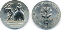 5 Mark 1985 DDR Caroline Neuber - Kupfer/Nickel prägefrisch/stempelglanz  52,00 EUR  zzgl. 3,80 EUR Versand