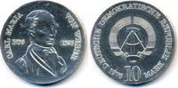 10 Mark 1976 DDR Carl Maria von Weber - Silber prägefrisch - minimal fl... 45,00 EUR  zzgl. 3,80 EUR Versand