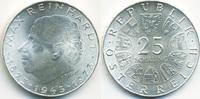 Österreich - Austria 25 Schilling 1973 prägefrisch 2. Republik – Max Rei... 11,00 EUR  plus 1,80 EUR verzending