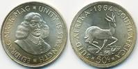 Südafrika - South Africa 50 Cents 1964 fast stempelglanz Republik seit 1... 20,00 EUR  plus 4,80 EUR verzending