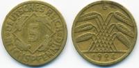 5 Reichspfennig 1924 G Weimarer Republik Kupfer/Aluminium sehr schön - ... 1,50 EUR  zzgl. 1,20 EUR Versand