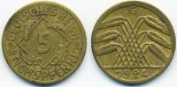 5 Reichspfennig 1924 G Weimarer Republik Kupfer/Aluminium sehr schön  1,80 EUR  zzgl. 1,20 EUR Versand