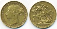 Sovereign 1881 M Australien - Australia Victoria 1837-1901 gutes sehr s... 399,00 EUR kostenloser Versand