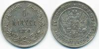 1 Markkaa 1890 L Finnland - Finland Alexander III. von Russland 1881-18... 27,00 EUR  zzgl. 3,00 EUR Versand