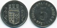 5 Pfennig 1920 Hannover Ohligs - Eisen 1920 (Funck 404.3e) vorzüglich -... 29,00 EUR  zzgl. 3,00 EUR Versand