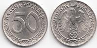 Drittes Reich 50 Reichspfennig Nickel