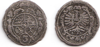 3 Kreuzer (Gröschl) 1697 Schlesien-Württemberg-Oels Christian Ulrich 16... 15,00 EUR inkl. gesetzl. MwSt., zzgl. 1,20 EUR Versand