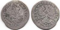 6 VI Kreuzer 1715 CLV Schlesien-Württemberg-Oels Carl Friedrich 1704-17... 35,00 EUR  zzgl. 3,00 EUR Versand