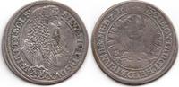 15 XV Kreuzer 1675 SP Schlesien-Württemberg-Oels Sylvius Friedrich 1664... 59,00 EUR  zzgl. 3,00 EUR Versand