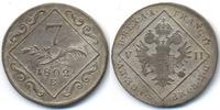 7 Kreuzer 1802 E Haus Habsburg - Karlsburg Franz II. (I.) 1792-1835 - Ü... 89,00 EUR