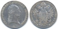 1 Taler 1822 G Haus Habsburg - Nagybanya Franz II. (I.) 1792-1835 sehr ... 95,00 EUR  zzgl. 3,80 EUR Versand