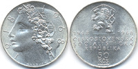 50 Kronen 1968 Tschechoslowakei - Czechoslovakia CSSR 1960-1990 - 50 Ja... 39,00 EUR  zzgl. 3,80 EUR Versand
