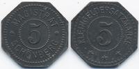 5 Pfennig ohne Jahr Bayern Schönberg - Zink ohne Jahr (Funck 482.1) prä... 32,00 EUR  zzgl. 3,80 EUR Versand