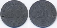 20 Pfennig ohne Jahr Hessen/Nassau Strassebersbach - Zink ohne Jahr (Fu... 79,00 EUR  zzgl. 3,80 EUR Versand