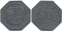 50 Pfennig 1917 Lothringen Diedenhofen - Zink 1917 (Funck 93.1b) Röttin... 26,00 EUR