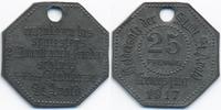 25 Pfennig 1917 Lothringen St. Avold - Zink 1917 (Funck 469.1Ab neue Nr... 28,00 EUR  zzgl. 3,80 EUR Versand