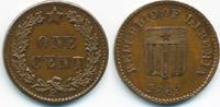 1 Cent 1889 P Liberia - Liberia Republik - Probe prägefrisch+  289,00 EUR kostenloser Versand