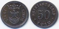 50 Pfennig 1919 Rheinprovinz Sinzig - Eisen 1919 (Funck 502.6Ab) sehr s... 49,00 EUR