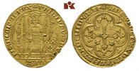 Ecu d'or o. J. (1337), 1. Emission FRANKREICH Philippe VI, 1328-1350. K... 895,00 EUR