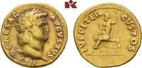 AV-Aureus, 64/65, Rom; MÜNZEN DER RÖMISCHEN KAISERZEIT Nero, 54-68. Fas... 2950,00 EUR