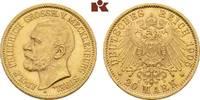 20 Mark 1905. Mecklenburg-Strelitz Adolf Friedrich V., 1904-1914. Fast ... 17495,00 EUR