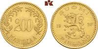 200 Markkaa 1926. FINNLAND 2. Republik seit 1917. Vorzüglich +  2795,00 EUR kostenloser Versand