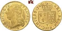 Louis d'or à la tête nue 1786 T, Nantes. FRANKREICH Louis XVI, 1774-179... 1175,00 EUR