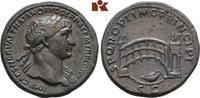 Æ-Sesterz, 107/110, Rom; MÜNZEN DER RÖMISCHEN KAISERZEIT Traianus, 98-1... 3885,00 EUR kostenloser Versand
