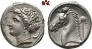 AR-Tetradrachme, 320/300 v. Chr., Lagermün SICILIA PUNIER. Attraktives ... 4245,00 EUR kostenloser Versand