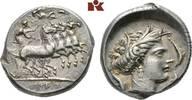 AR-Tetradrachme, 350/300 v. Chr., Rasch Me SICILIA PUNIER. Attraktives,... 3795,00 EUR kostenloser Versand