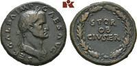 Æ-Sesterz, 68, Rom; MÜNZEN DER RÖMISCHEN KAISERZEIT Galba, 68-69. Braun... 1900,00 EUR kostenloser Versand