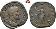 Æ-Sesterz, Rom; MÜNZEN DER RÖMISCHEN KAISERZEIT Pupienus, 238. Braune P... 1085,00 EUR kostenloser Versand