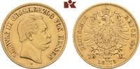 10 Mark 1873. Hessen Ludwig III., 1848-1877. Sehr schön-vorzüglich  425,00 EUR  zzgl. 5,90 EUR Versand