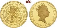 100 Dollars 2000. AUSTRALIEN Elizabeth II. seit 1952. Polierte Platte  395,00 EUR