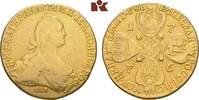 10 Rubel 1776, St. Petersburg. RUSSLAND Katharina II., 1762-1796. Henke... 2795,00 EUR