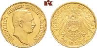20 Mark 1913. Sachsen Friedrich August III., 1904-1918. Vorzüglich +  645,00 EUR