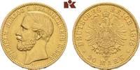 20 Mark 1875. Braunschweig Wilhelm, 1830-1884. Vorzüglich  1975,00 EUR