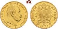 10 Mark 1873 B. Preussen Wilhelm I., 1861-1888. Vorzüglich  225,00 EUR