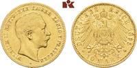 10 Mark 1895 A. Preussen Wilhelm II., 1888-1918. Fast sehr schön  975,00 EUR