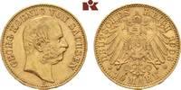 10 Mark 1903. Sachsen Georg, 1902-1904. Vorzüglich  595,00 EUR  zzgl. 5,90 EUR Versand