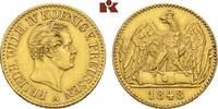 Doppelter Friedrichs d'or 1848 A, Berlin. BRANDENBURG-PREUSSEN Friedric... 3375,00 EUR kostenloser Versand