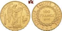 100 Francs 1900 A, Paris. FRANKREICH 3. Republik, 1870-1940. Fast vorzü... 1335,00 EUR kostenloser Versand
