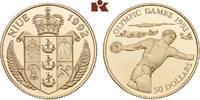 50 Dollars 1992. NIUE Elizabeth II. seit 1952. Polierte Platte  190,00 EUR  zzgl. 5,90 EUR Versand