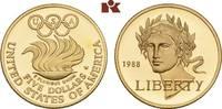 5 Dollars 1988 W, West Point. VEREINIGTE STAATEN VON AMERIKA / USA Föde... 305,00 EUR  zzgl. 5,90 EUR Versand
