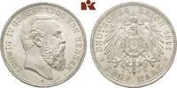 5 Mark 1891. Hessen Ludwig IV., 1877-1892. Winz. Kratzer, fast Stempelg... 4975,00 EUR kostenloser Versand
